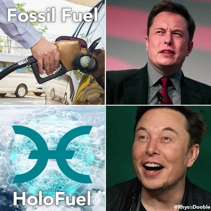 HoloFuel Elon Musk meme