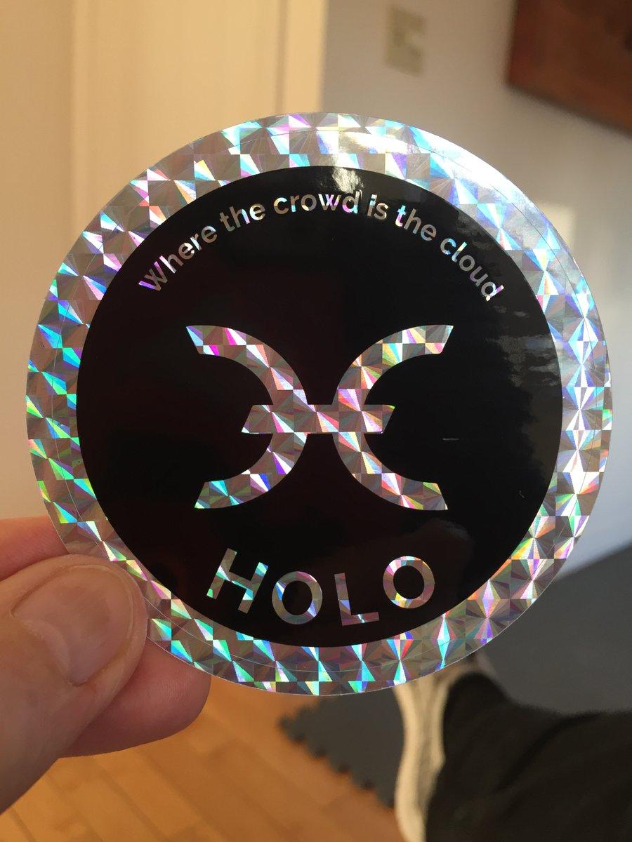 HoloFuel sticker