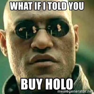 Holo matrix I told you meme