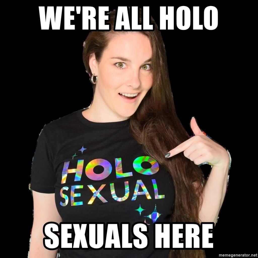 Holo sexual meme