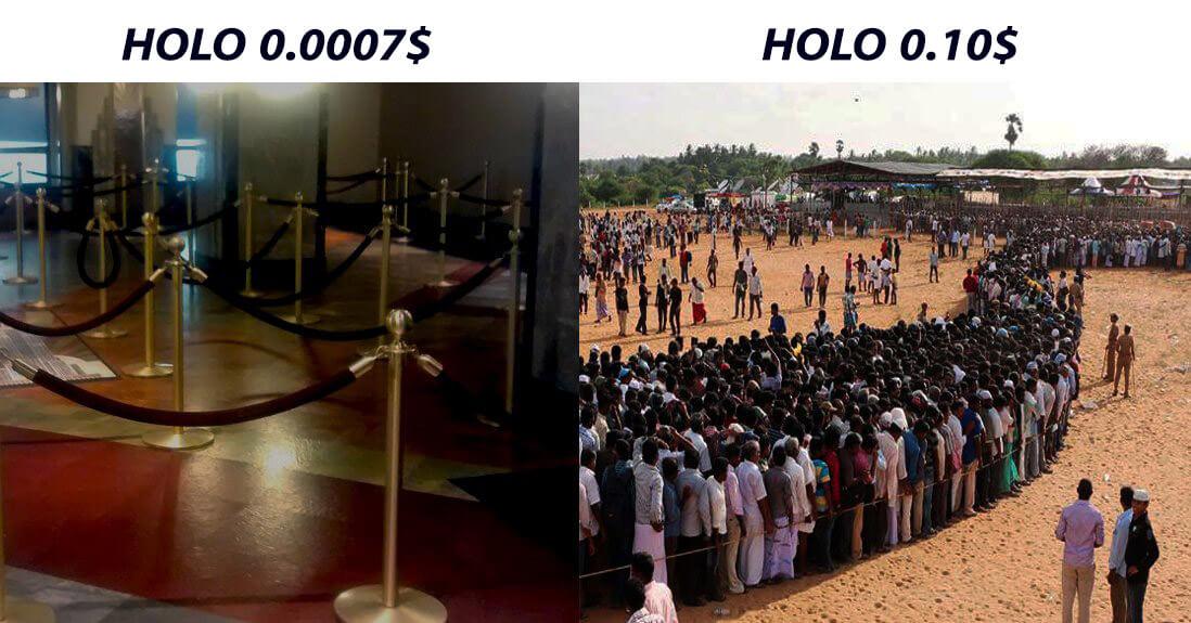 Holo price waiting list meme
