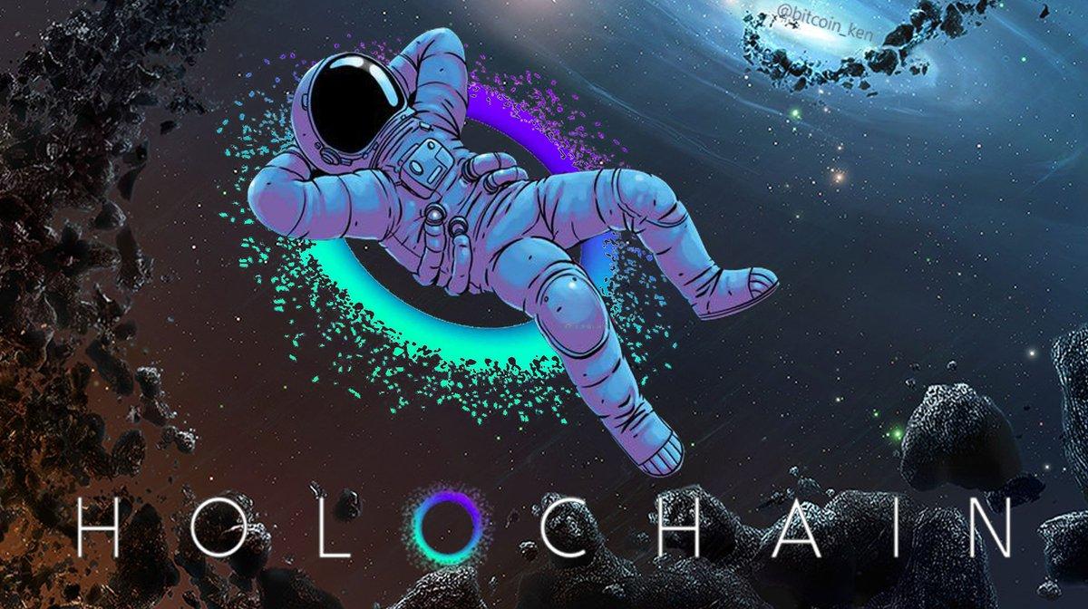 Holochain astronauts meme