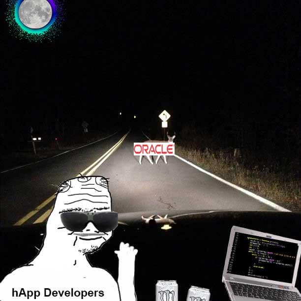 Holochain developer meme