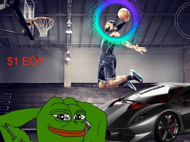 Holochain dunk meme