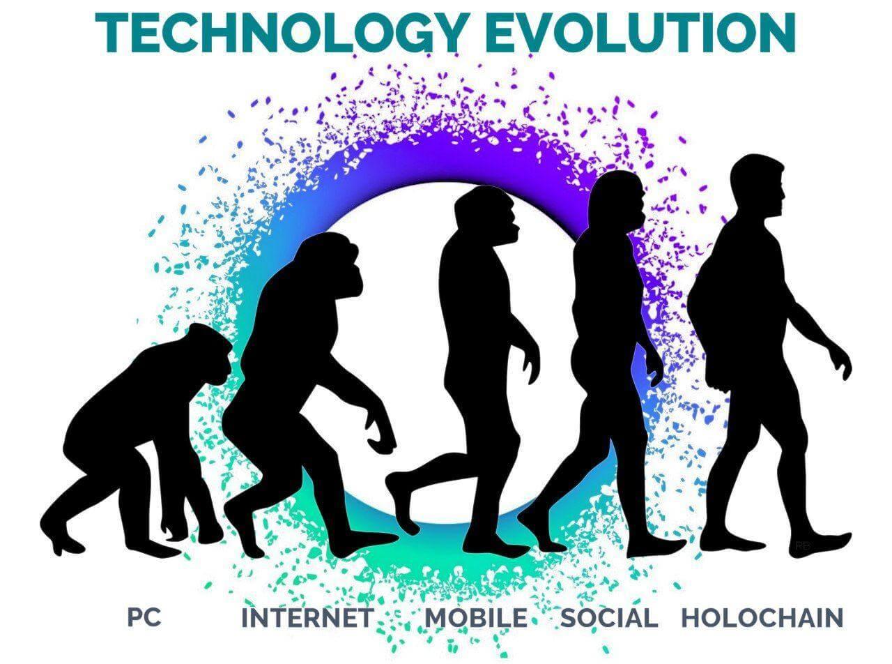 Holochain evolution meme