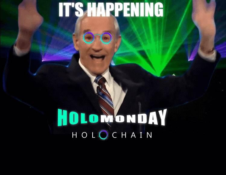 Holochain  happy meme