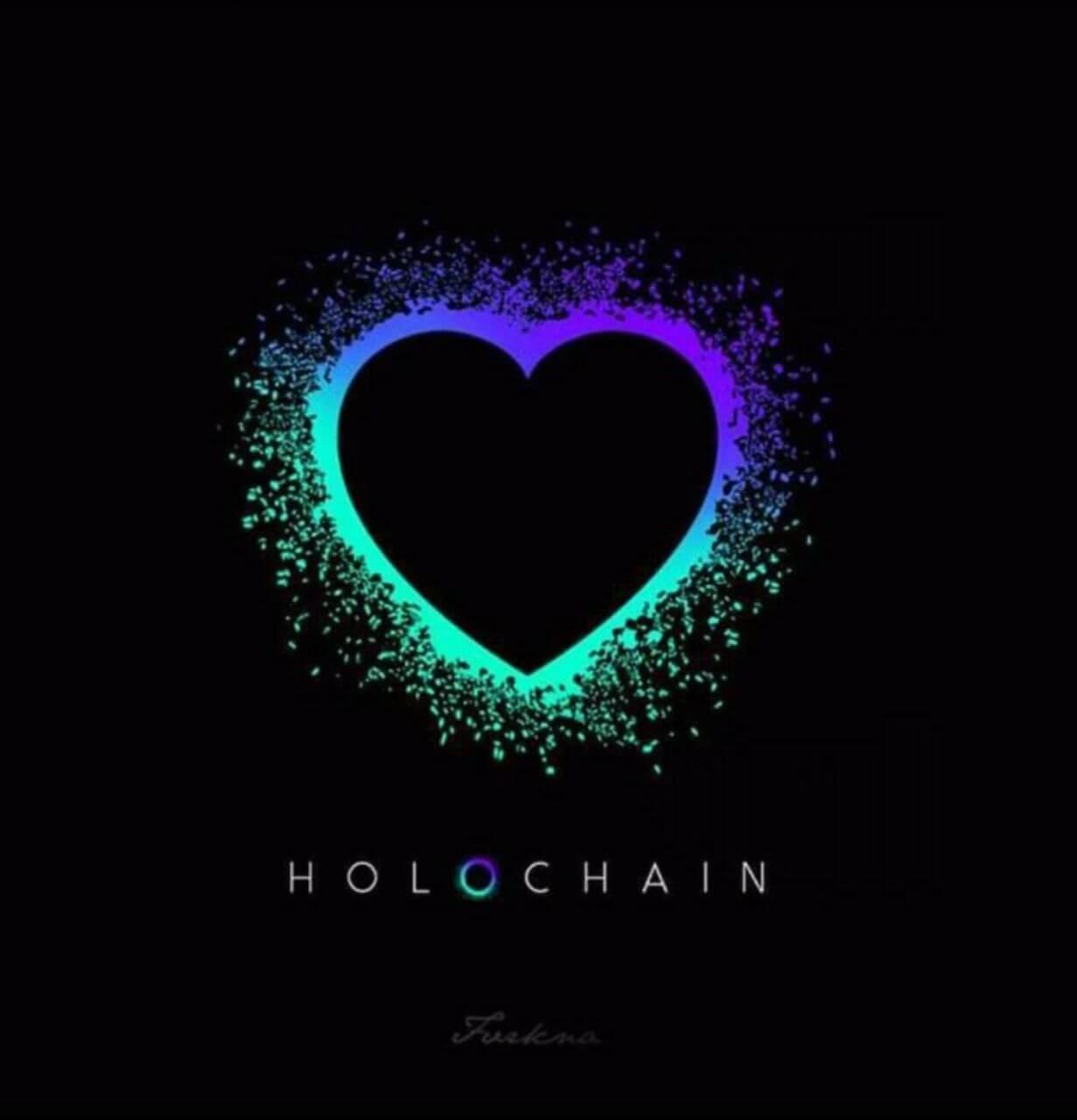 Holochain heart meme