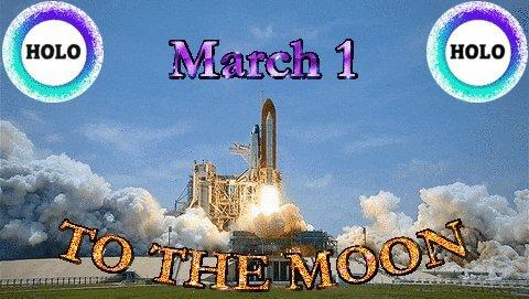 Holo march 1st meme