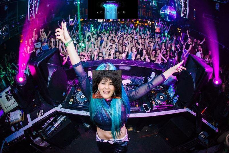 Holo Mary Camacho DJ meme