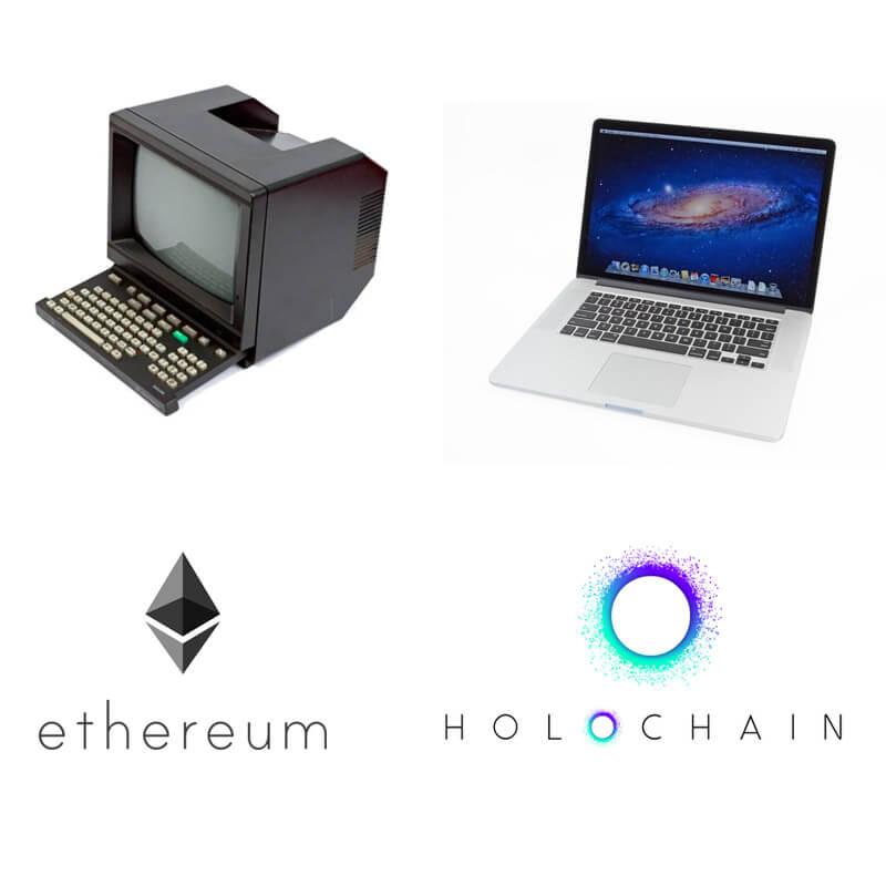 Holochain Ethereum minitel meme