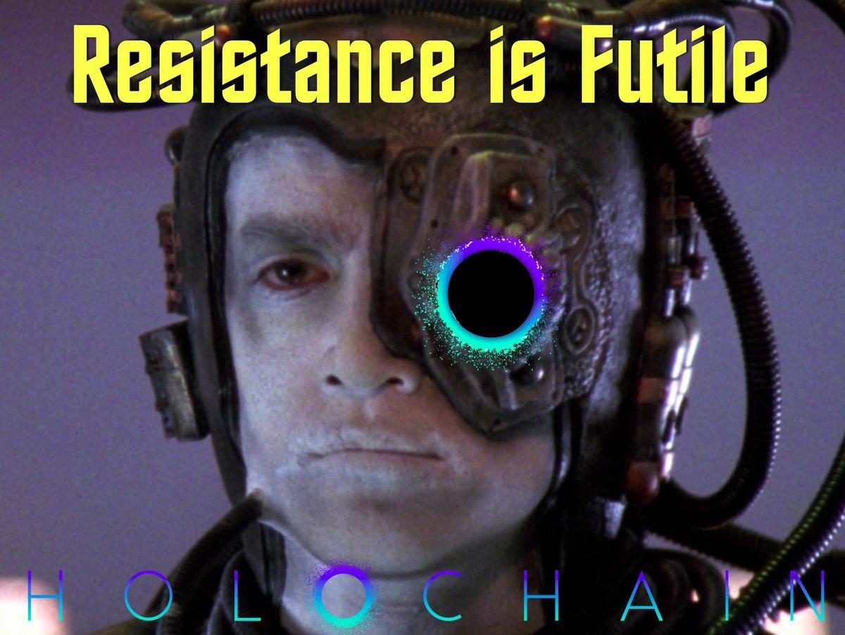 Holochain Resistance meme