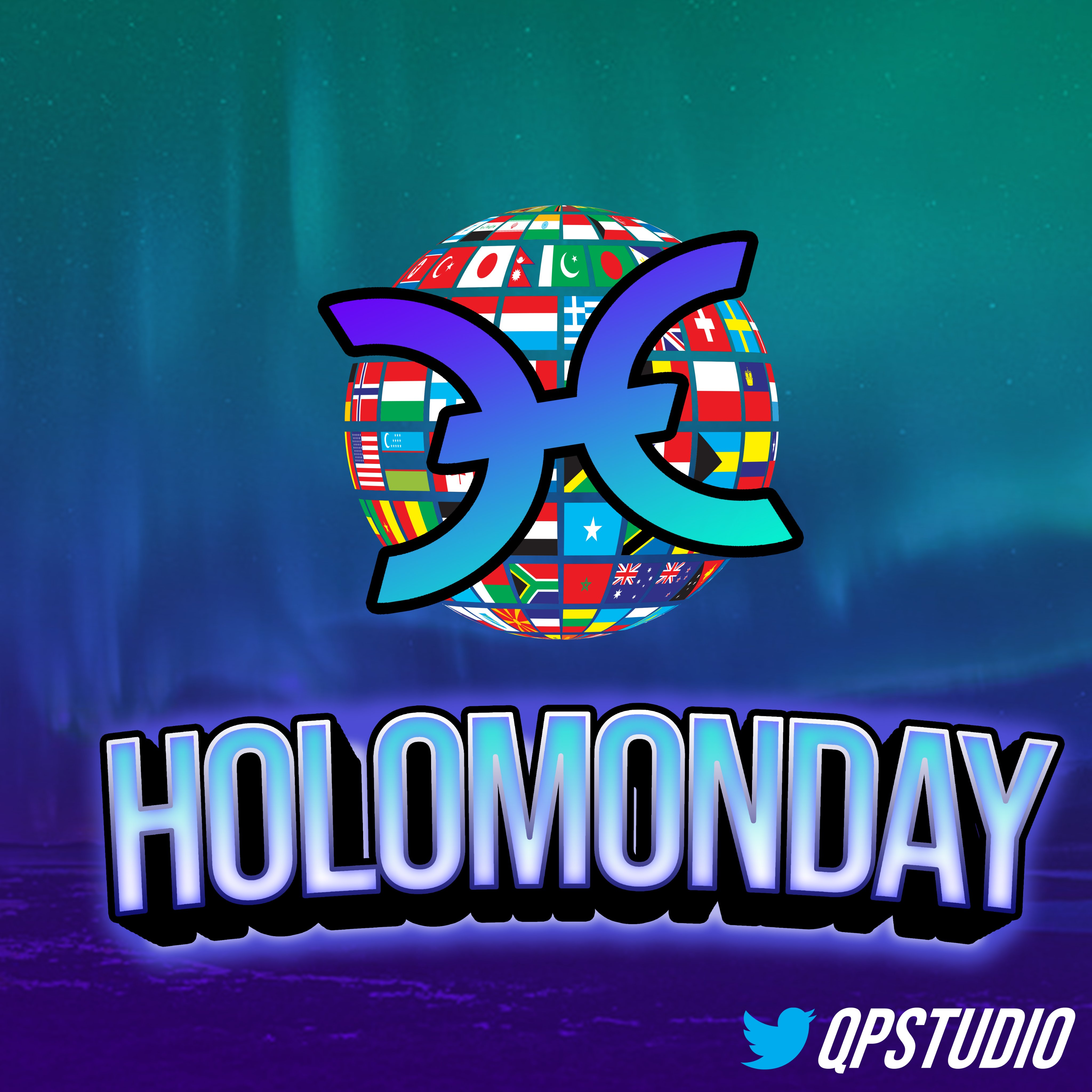 HoloMonday Flag meme