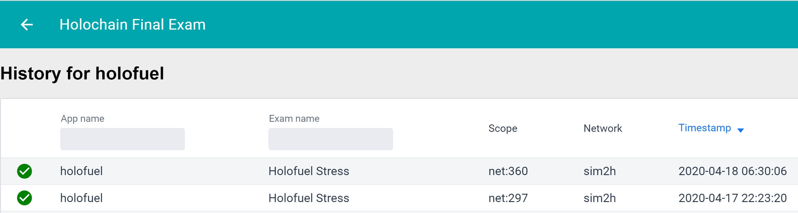 HoloFuel Stress Test